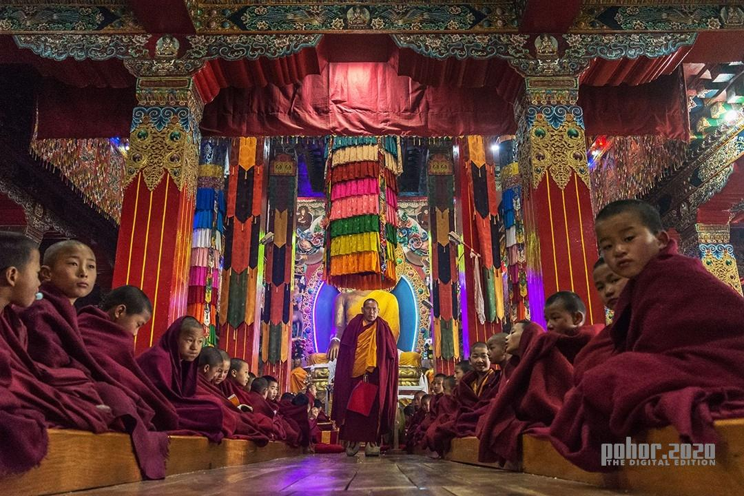 Northeast_debasish_Rituals at Tawang Monastry