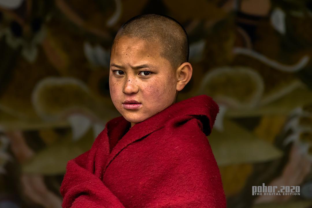 Portrait_Debasish_Little Monk