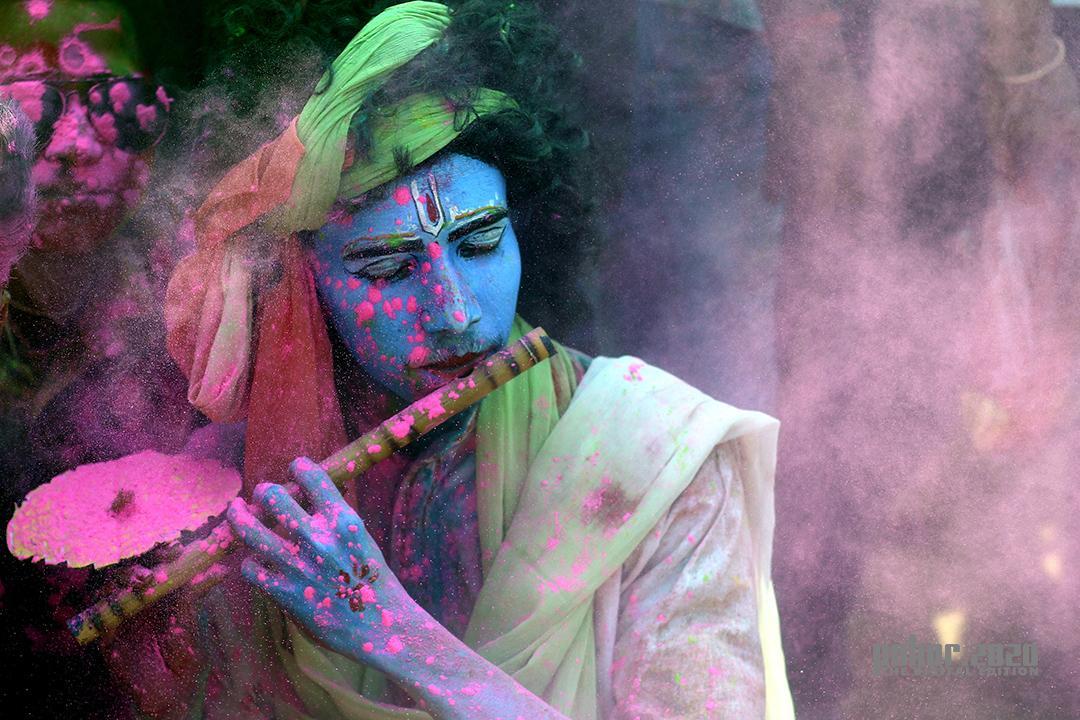 Portrait_Dip Jyoti Das_LORD KRISHNA ON EARTH