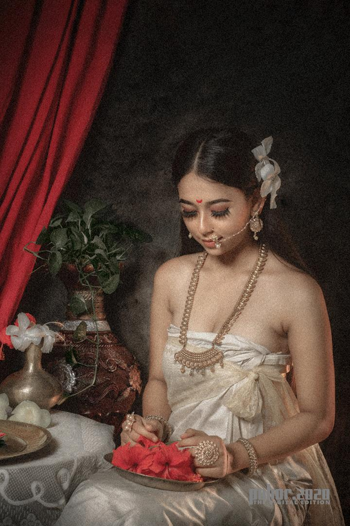Portrait_Mriganka Borah_THE VILLAGE BELLE