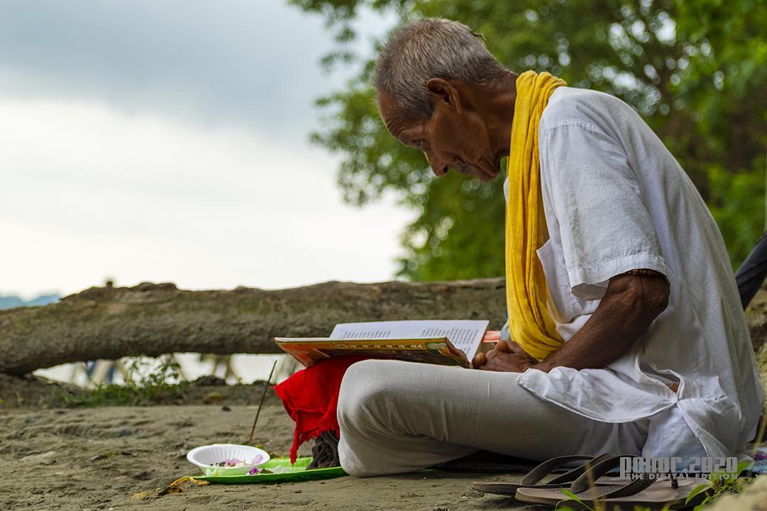 Portrait_Purbajyoti Bhagowati_The Riverside Oldman