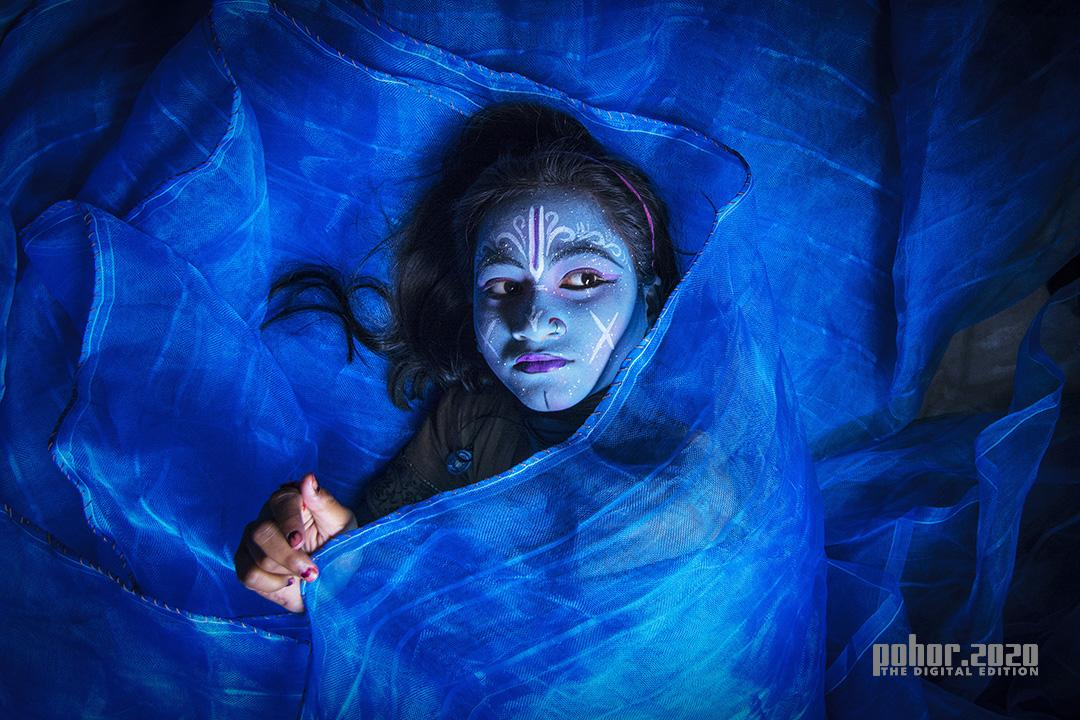 Portrait_Pushpendu Paul_BEAUTY IN THE BLUE