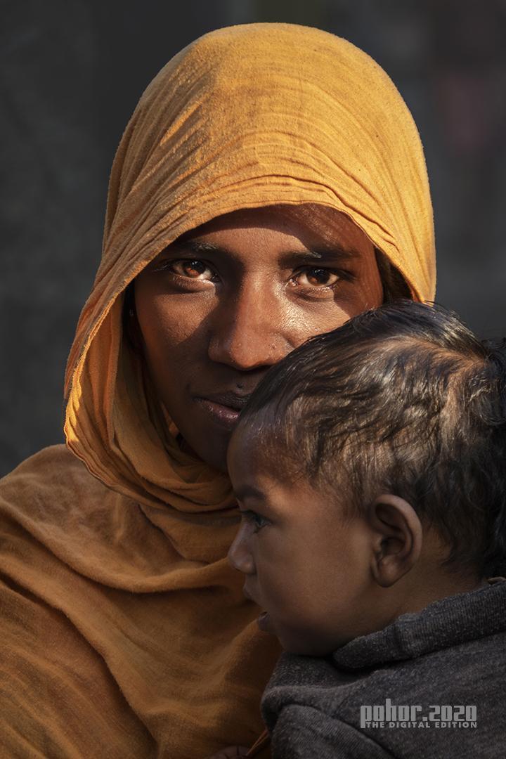 Portrait_Puspita Chowdhury_Brown Eyes Under the Veil
