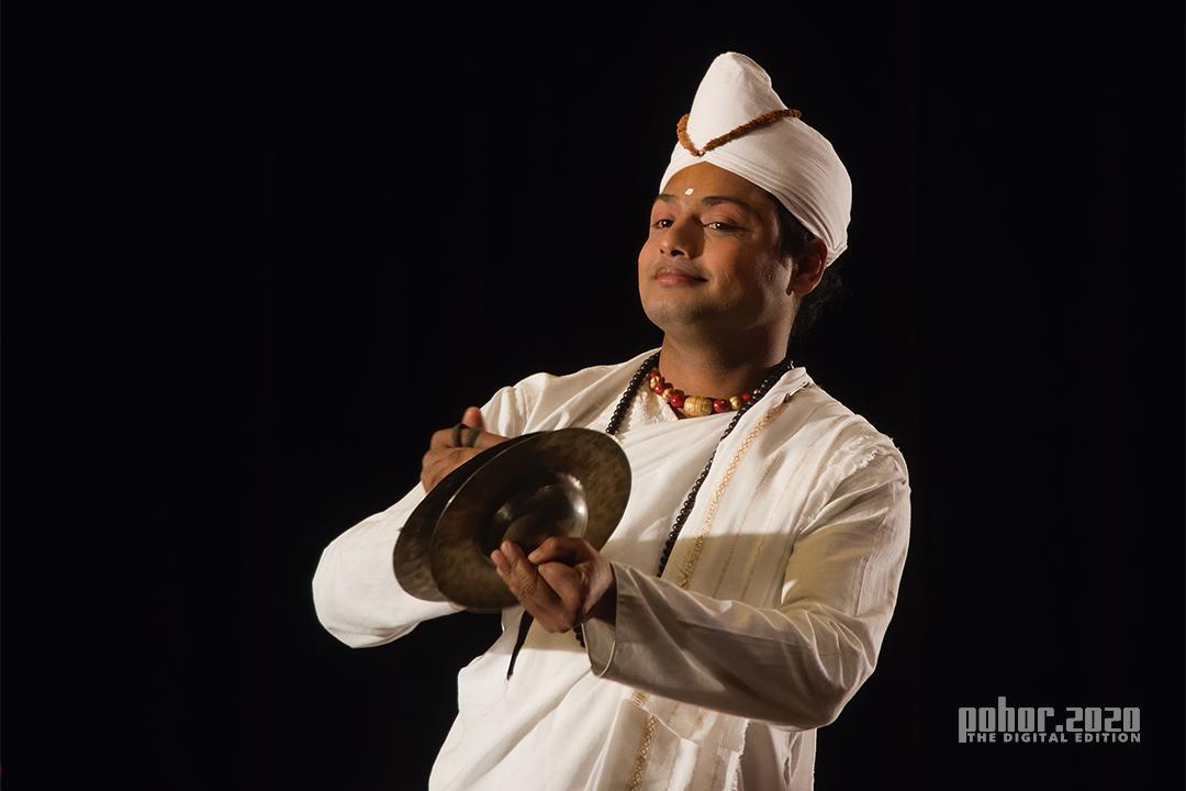Portrait_Ratnajit Choudhury_SATTRIYA DANCER