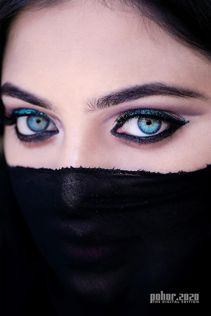 Portrait_Shiban Bhattacharjee_Blue Eye