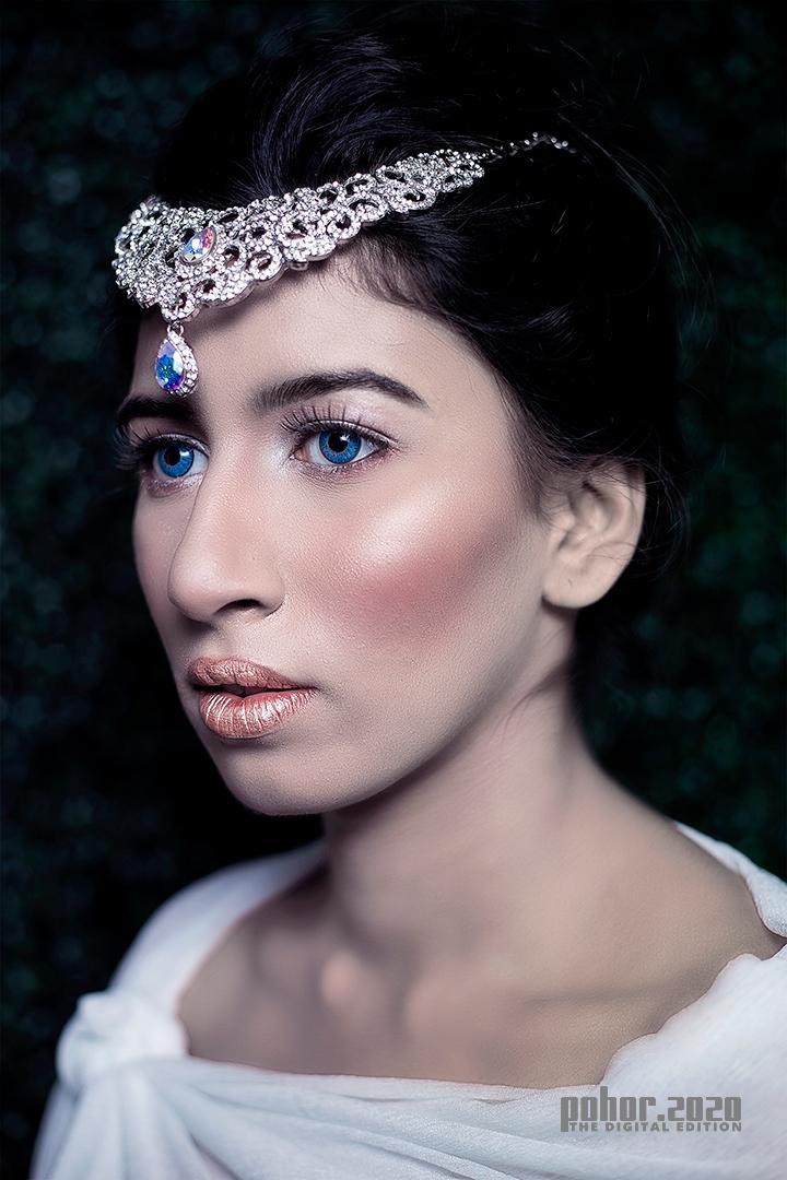 Portrait_Shiban Bhattacharjee_The Frozen Quen